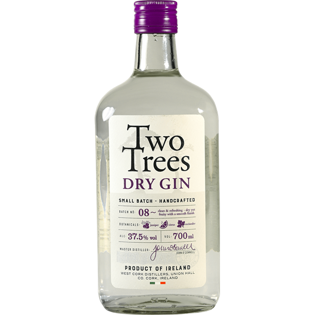 TWO TREES GIN 700ML 37.5%